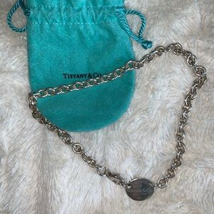 TIFFANY oval chain necklace